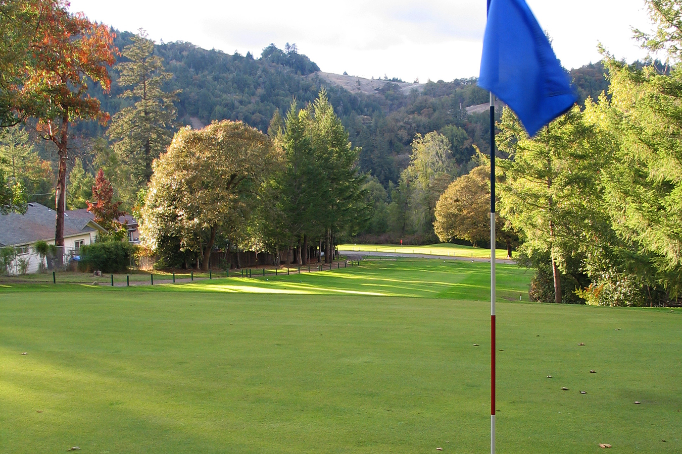 Benbow KOA Golf Course flag