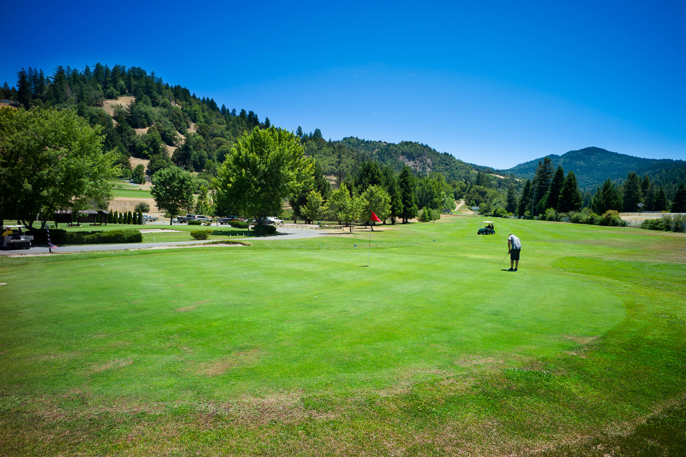 banner image is of Benbow KOA 9-Hole Golf Course