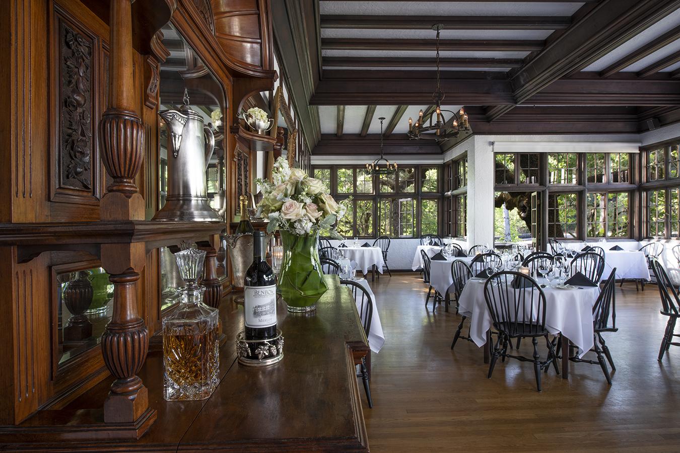 banner image is of Benbow Inn Restaurant