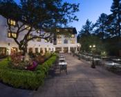 Benbow Historic Inn Room Terrace at Sunset