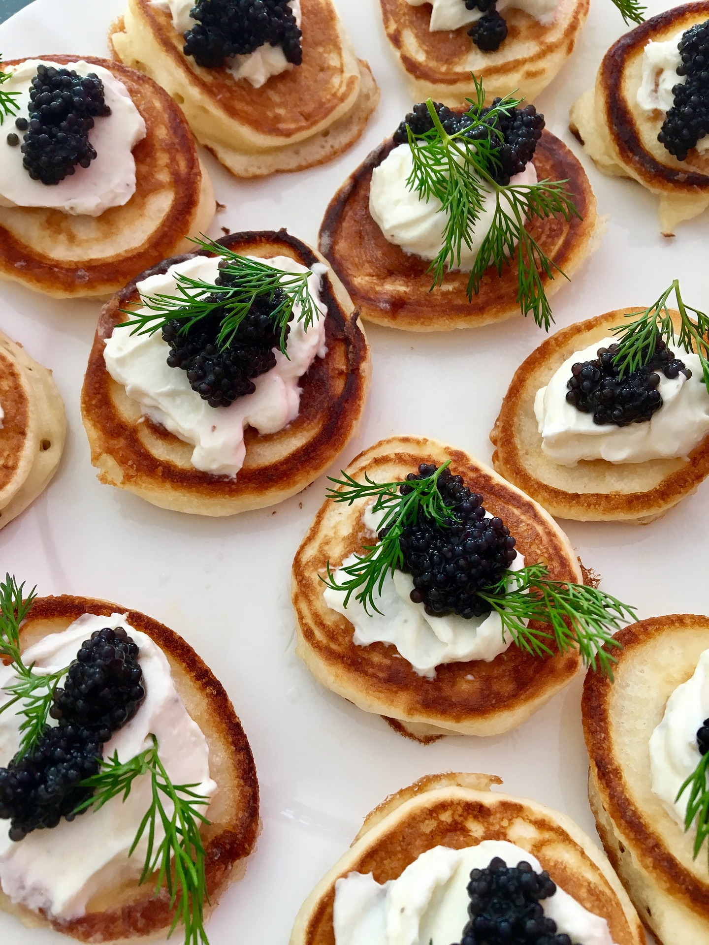 banner image is of Caviar on toast